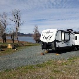 Feeling like I had the campground to myself.