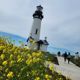close to lighthouses!