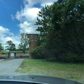 original front gate closed