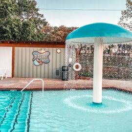 Shallow Kid Pool area