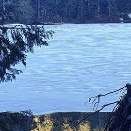 Cora (snow) lake