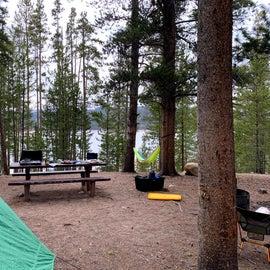 Our campsite (#12)