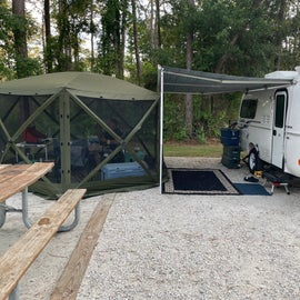 Our home away from home - site #30