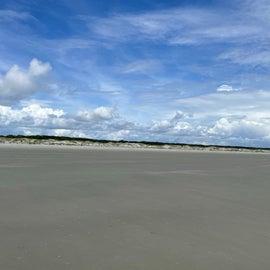 Cumberland Island - beach and dunes