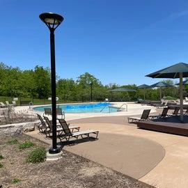 pool and splash pad