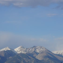 just outside the Great Sand Dunes N.P. & P.
