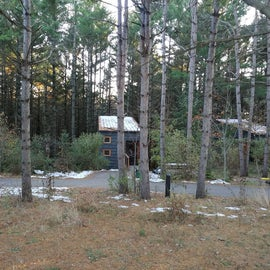 The cabins are close to each other, but they're quiet on the inside.