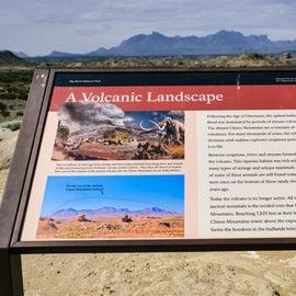 Great description of the mountain landscape