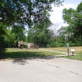 Playground near picnic area