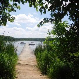 Tuner Lake at top of campground