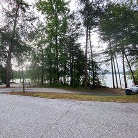 walk in camp sites