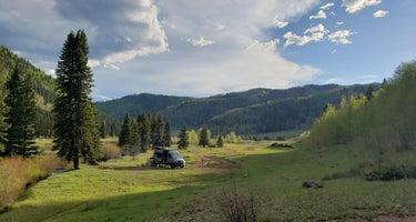 Hermosa Creek Trailhead - Dispersed Camping
