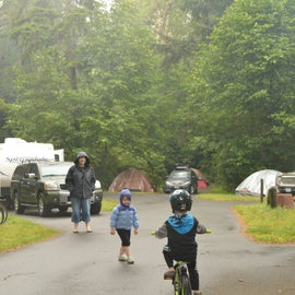 camp loops are great for bike riding
