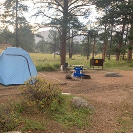 Morraine campground