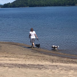 walk along the beach that is ADA accessible