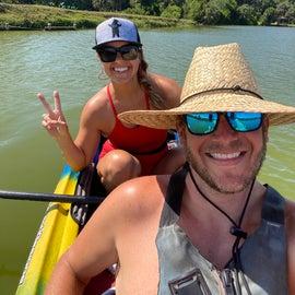 our kayak trip