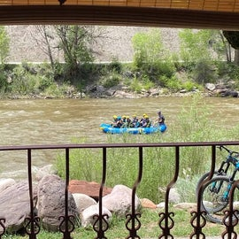 view from Double Tree Brewery in Durango