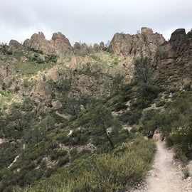 Hike above campground.