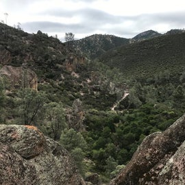 More views of the pinnacles above the campground, a short drive up the road.