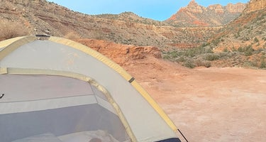 Smithsonian Butte Dispersed Camping