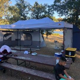 My camping set up.