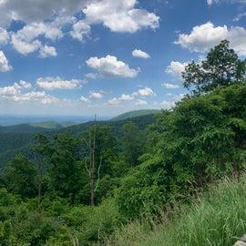 One of the Shenandoah Overlooks