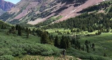 Maroon Bells-Snowmass Wilderness Dispersed Camping