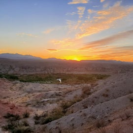 canyon view at sunrise