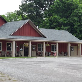 Camp office and store