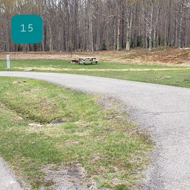 Blackwater Falls SP Campground Site 15