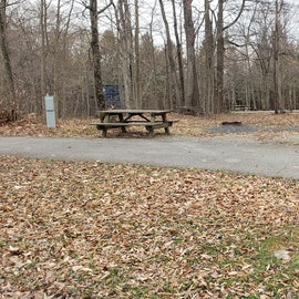 Blackwater Falls SP Campground Site 30