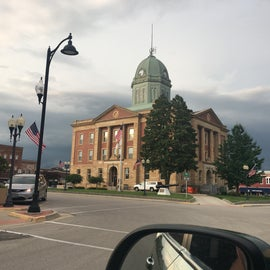 This building was in center of town square. And it looks so much like the building in back to the future ahead take a picture of it. Also the closest town to the campground