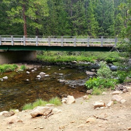 the bridge at the turnoff