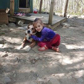 Pet friendly yurt