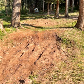 Camp access, too rutted for my van