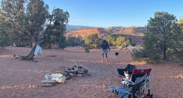 Burr Trail Rd Dispersed Camping