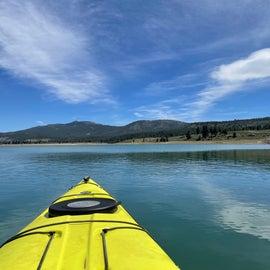 Water views of Boca Reservoir