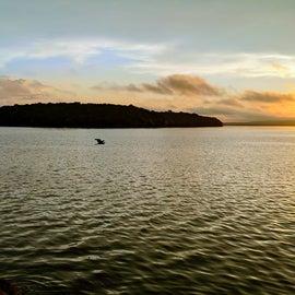 Sunrise on Ft Gibson Lake