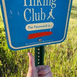 4.7 mile hiking club trek