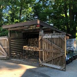 Firewood, carts, propane