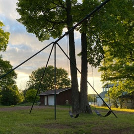 swings near site 29