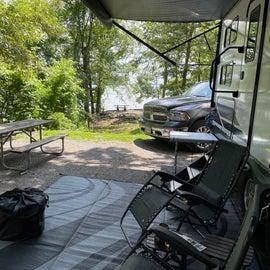 Spacious campsites!