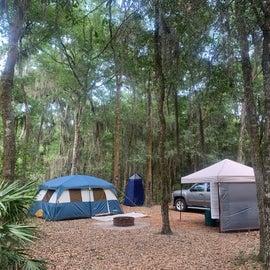 tent site J7
