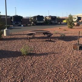 Desert Eagle RV Park sites 134, 135, 136