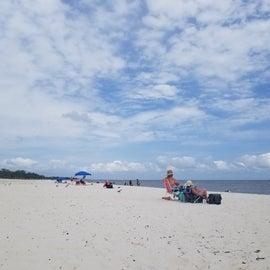 Beach at Biloxi