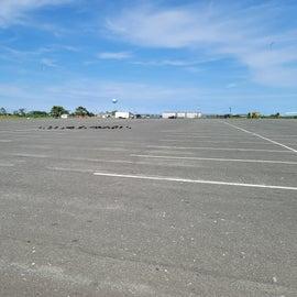beach parking lot
