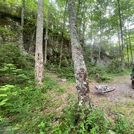 cliff side campsite part 2