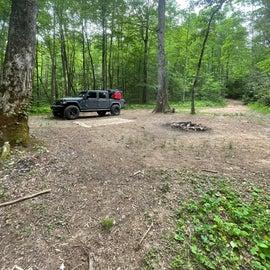 creek side campsite part 1