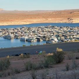 Marina at Lake Powell