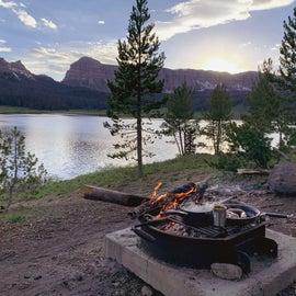 camp views and eats